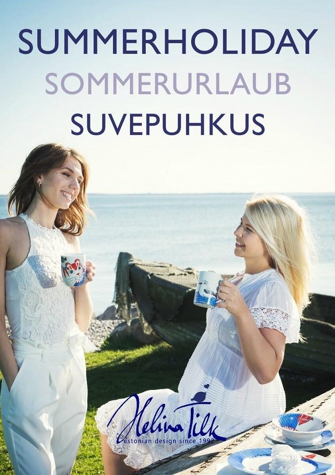 Helina Tilk: Handbemaltes Porzellan, Keramik, Geschirr & Heimtextilien